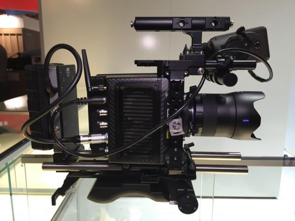 The Alexa MINI with Zeiss Milvus lens