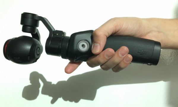 The OSMO can be used in 'torchlight' mode which may work well in many situations