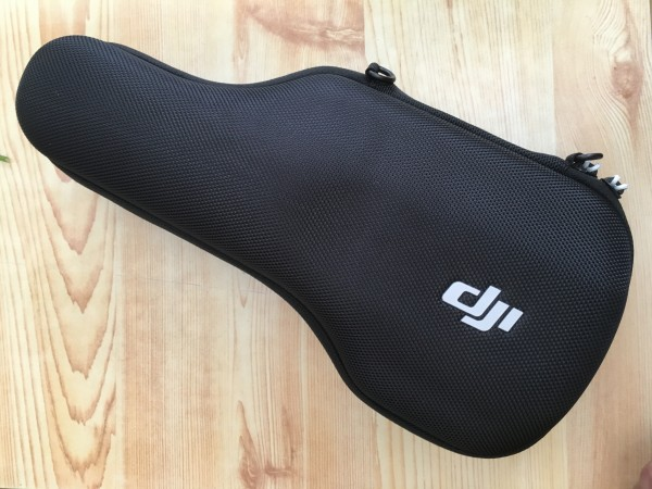 The OSMO comes in something that resembles a mini guitar case