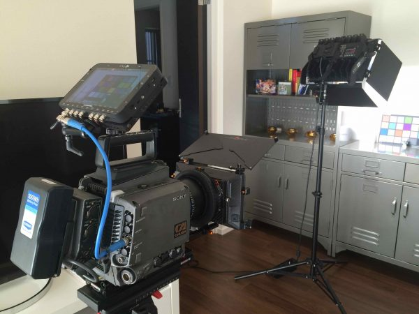 The Odyssey 7Q+ on the Sony F35