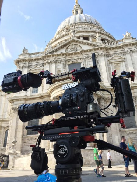The C300 mkII dressed in Zacuto gear