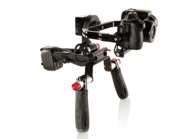The Shape ISEEPLUS brushless gimbal with shoulder rig option