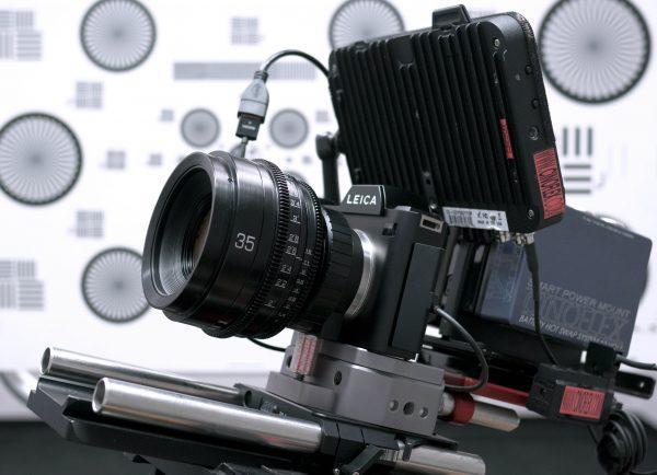 The Leica SL with GL Optics PL converted Leica 35mm f1.4 R lens
