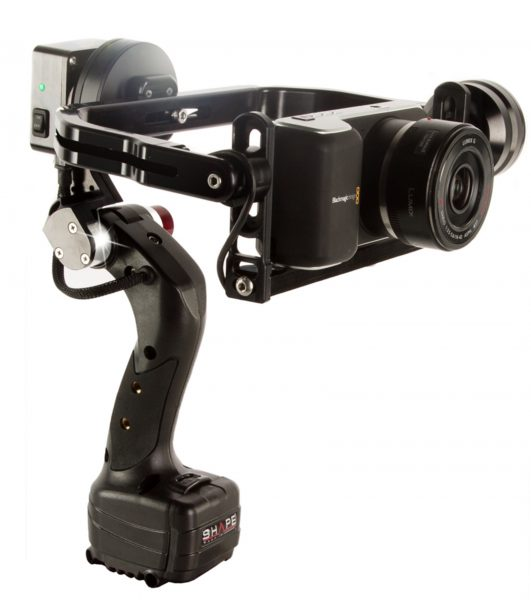 The ISEE+ with Blackmagic Pocket Cinema Camera