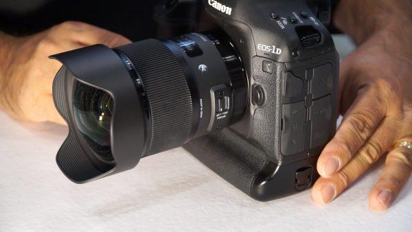 Sigma 20mm f/1.4 Art Lens