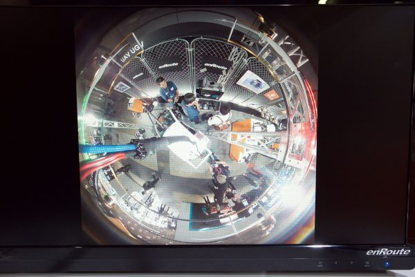 Image from the 360 degree camera array