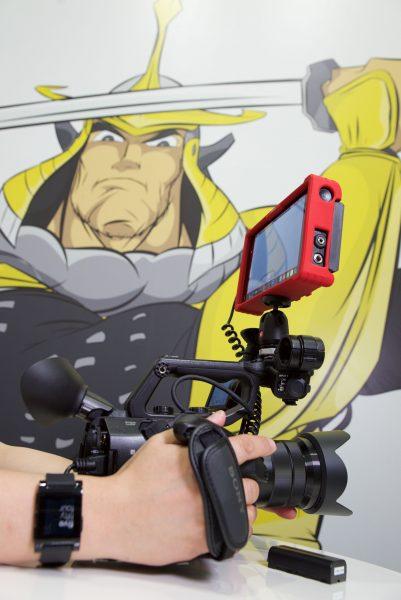 The FS5 with the Atomos Shogun 4K recorder