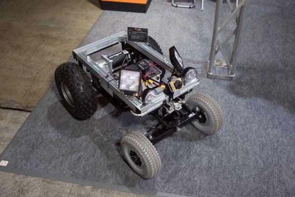 A camera mountable off road vehicle