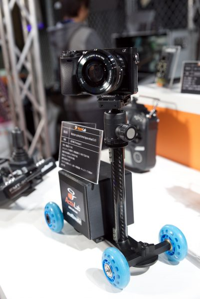 A motion time-lapse device on wheels