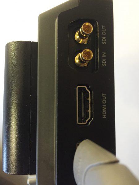 The SDI and HDMI inputs
