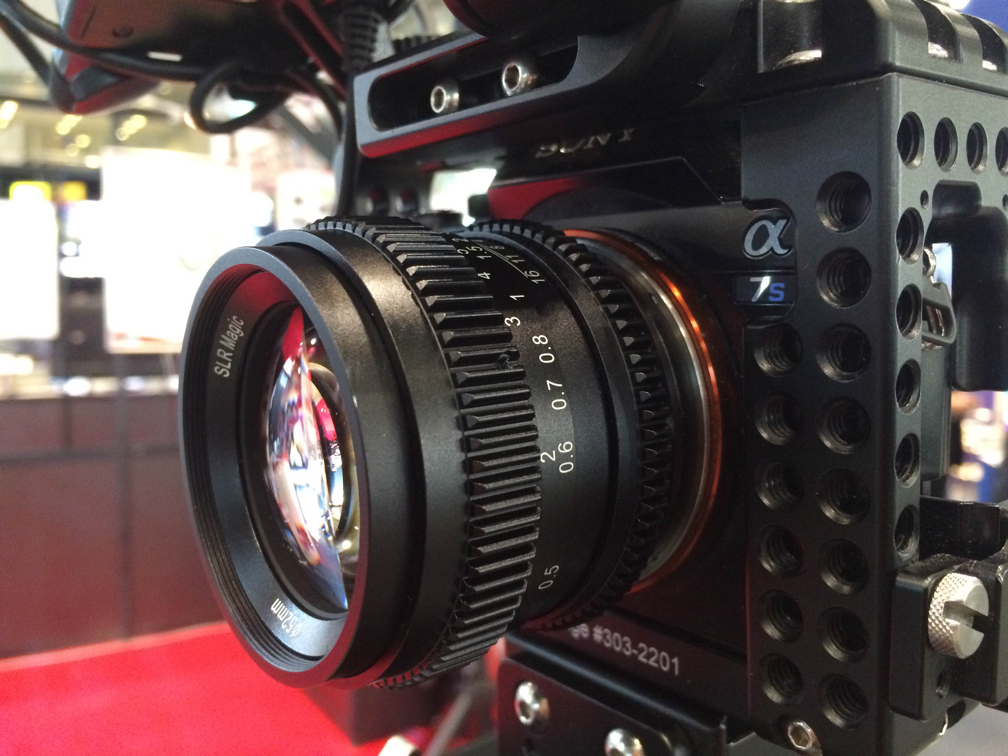 Interbee 2015: Hands on with the SLR Magic 50mm f1.1 full frame E ...