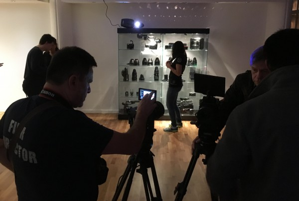 The event at the CVP London showroom was well attended.