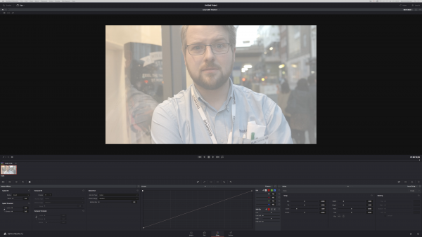 Nick Driftwood's Leica Log test footage in Davinci Resolve