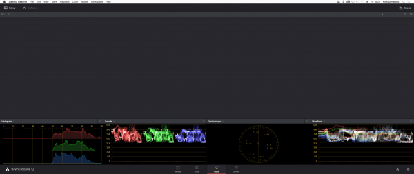 The waveforms of the test image above show the strange Log behaviour