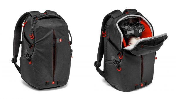 Peekaboo flaps allow you to access your gear without putting the bag down.