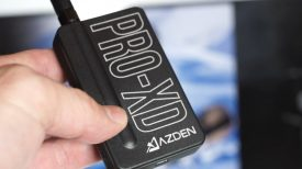 Newsshooter at Interbee 2015 Azden 2.4Ghz Pro XD wireless system