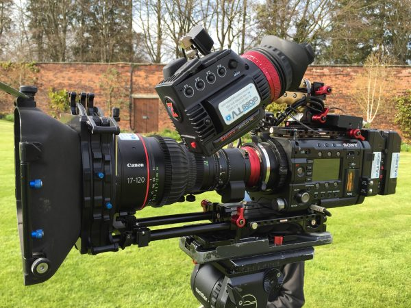 The quick release system makes it easy to switch from shoulder to tripod - providing you don't have any plate compatibility issues.