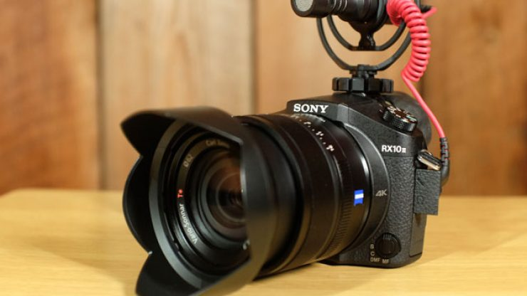 Sony RX10 II Rode Video Micro