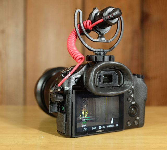 A custom eyecup extension made with Sugru.
