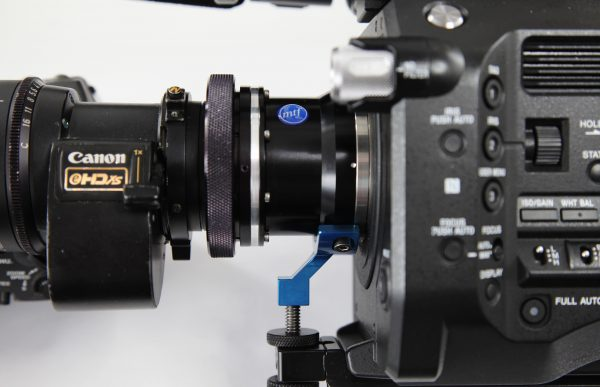 The '2K Center' scan mode allows b4 lenses to cover the frame with an optical adapter