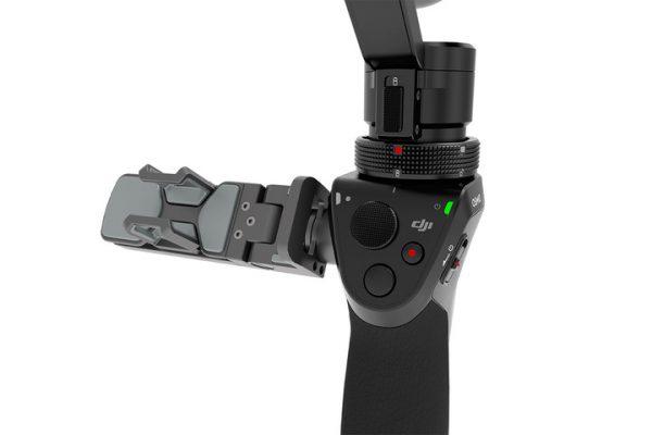 DJI Osmo gimbal-stabilised camera