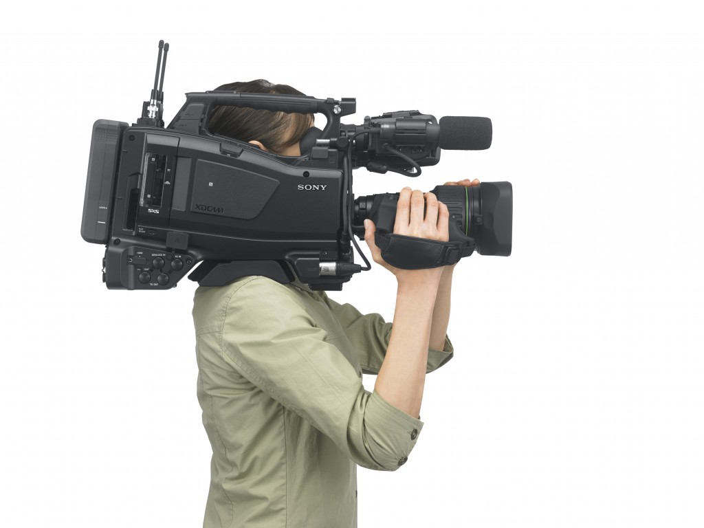 Ccw Nab New York Sony Introduces Pxw X400 2 3 Quot Hd Eng