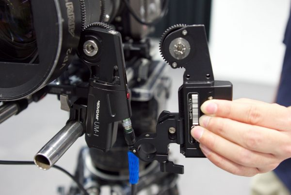The Movcam UM-1 Motor next to the Arri CLM-4