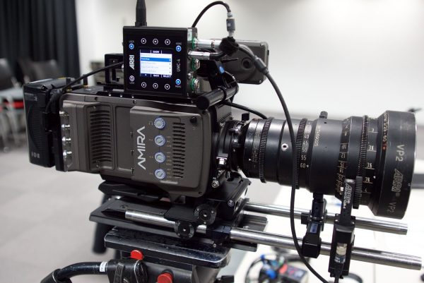 The  Arri SXU-1 and CLM-4 motor set up