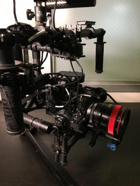 The FS5 is a much better fit on the Movi than the FS7 - a bigger battery helps to balance out front-heavy primes.