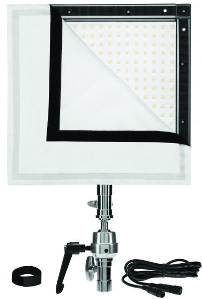 The new units will be available in a kit including a frame, diffusion and mounting clamp.