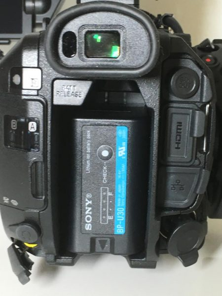Sony FS5 battery
