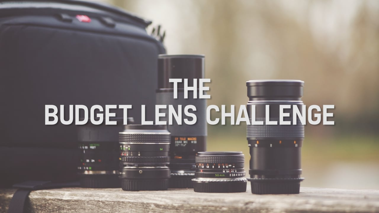 The Budget Lens Challenge - can you really build a set of usable lenses for less than $60 each?