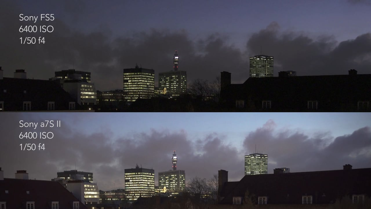 Sony FS5 vs a7S II A quick and dirty low light comparison - Newsshooter : sony a7s low light - azcodes.com