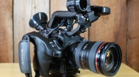 Sony FS5 other side