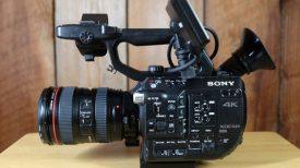 Sony FS5 side