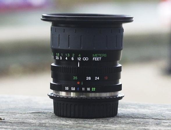 The Cosina 19-35mm lens