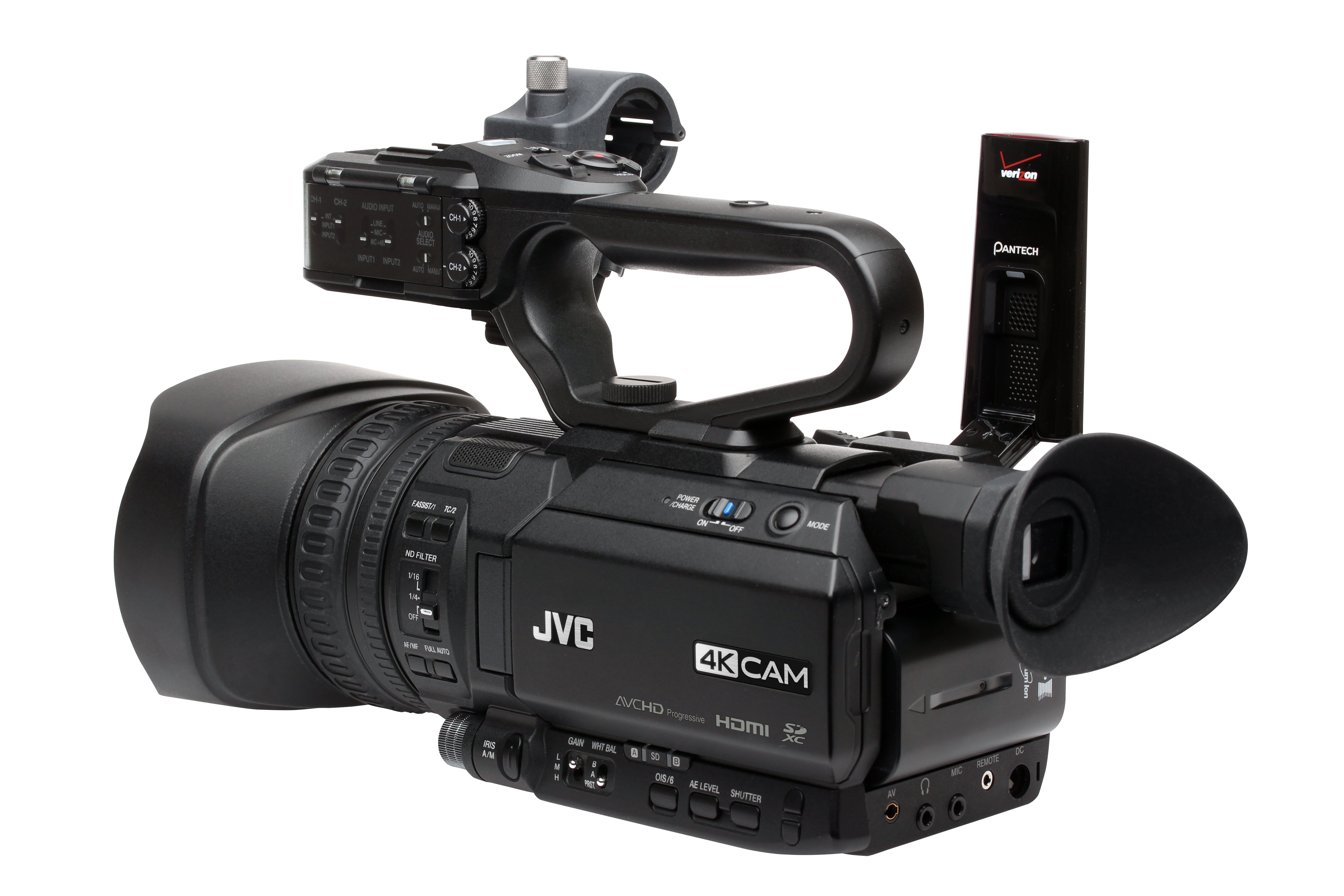 Jvc announces two new cameras for covering sports for Camera streaming live