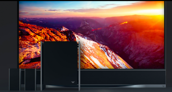 The Vizio Full-Array LED  HDR + UHD Smart TV