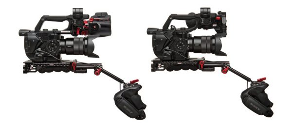 Sony fs5 zacuto options for Gratical HD EVF (left) and Z-finder (right)