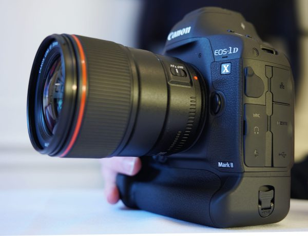 The Canon EOS-1D X mkII with 35mm f1.4 II L lens