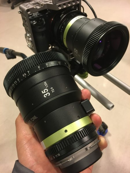 The lenses are much smaller than the previous SLR Magic Anamorphic lenses