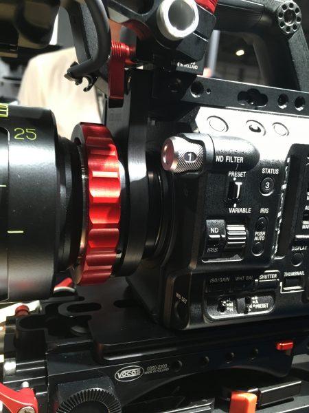 The Vocas FS5 PL mount bracket.