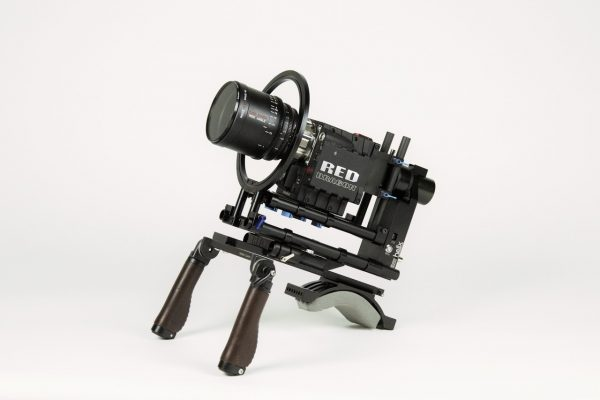 The 1-Axis PRO can also be used on shoulder rigs.