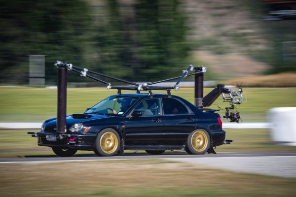 The chase car used to capture close up images. Photo: Miles Holden http://www.milesholden.com