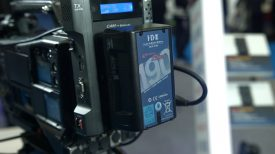 Newsshooter at BVE 2016 IDX Duo Compact batteries