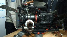 Newsshooter at BVE 2016 Vocas FS5 PL mount and shoulder rig