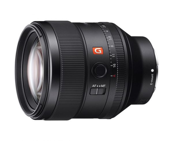 The 85 1.4 brings a classic portrait focal length to Sony's range, with a manual aperture ring.