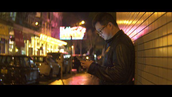 The 1.33x Anamorphot's creator Andrew Chan. Shot with 50mm 1.33x Anamorphot