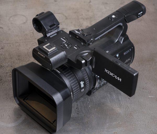 The Sony PXW-Z150.