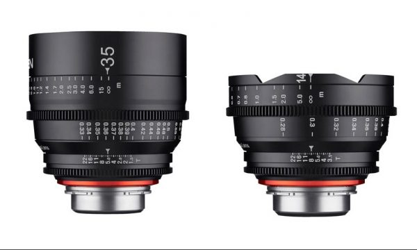 The new XEEN 35 and 14mm lenses